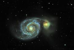 M51: the splendid whirlpool galaxy (Trois_Merlettes) Tags: m51 otw spiralgalaxy messier51 astrometrydotnet:status=solved whirpoolgalaxy astrometrydotnet:id=nova1602938