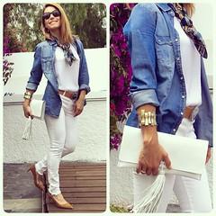 Hoy en el blog/today on http://ift.tt/1LWGFrh finde actitud! A disfrutar  #elblogdemonica #detallesqueenamoran #accesorios @ecue_spain #trendy #clutch #streetstyle #blogger #fashion #fashionblog (elblogdemonica) Tags: hat fashion shirt bag happy shoes pants details moda zapatos jacket trendy tendencias looks pantalones sombrero collar camiseta detalles outfits bolso chaqueta pulseras mystyle basicos streetstyle sportlook miestilo modaespaola blogdemoda springlooks instagram ifttt tagsforlike elblogdemonica
