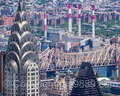 The Chrysler Building  and the Ed Koch Queensboro Bridge, New York City (jag9889) Tags: nyc newyorkcity bridge usa ny newyork building architecture skyscraper observation puente crossing unitedstates outdoor manhattan unitedstatesofamerica bridges aerialview landmark ponte midtown deck observatory esb infrastructure pont empirestatebuilding chryslerbuilding brcke openair 2016 midtowneast k175 jag9889 edkochbridge 20160610