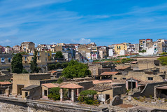 Ercolano (elzauer) Tags: travel archaeology outdoors photography volcano roman aerialview unescoworldheritagesite ercolano herculaneum southerneurope mtvesuvius traveldestinations famousplace gulfofnaples oldruin westerneuropeanculture