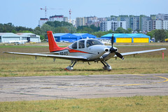 Cirrus SR-22 T / SP-ECS / Private / EPBC Warsaw Babice (Eryk Strzaa) Tags: private warsaw specs cirrus sr22 epbc babice
