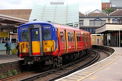 455737 Clapham Junction 21.06.16 (jonf45 - 2.5 million views-Thank you) Tags: west london electric br south rail trains junction class multiple emu british railways clapham unit 455 4557 5737 455737