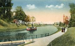 X000232_trave-kanal-historisch (stadt + land) Tags: trave elbelbeckkanal wasserweg handelsweg salzstrase altesalzstrasse travekanal stecknitkanla