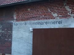 Burn Baby Burn (mkorsakov) Tags: city wall wand burn typo mnster innenstadt brennerei hafenviertel