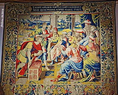 Zamora 15 Tapiz del museo de la catedral (ferlomu) Tags: catedral iglesia zamora tapiz ferlomu