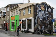 7 - Reykjavic (28) (Yksel85) Tags: nikon reykjavic islanda husavik iceland streetart graffiti murales art strada street affreschi europa waterfall cascate foca foche animali svartifoss soffioni jokulsarlon hofn hverir geyser