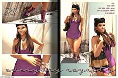 Everyday, Royalty (Ms. Vivacious) Tags: moon nova female yummy moda blogging vague luxe zenith azzy virtualfashion azmera alaskametro kustom9 collabor88 lyfeofstyle definedstyle msvivacious vaydia