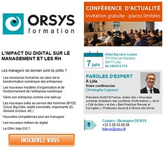 #CONFIMPACTDIG_Confrence d'actualit ORSYS_Impact du digital sur le management et les RH (ORSYS Formation) Tags: orsys formation conference lille htelcasino christophelegrenzi management rh digital manager reseauxsociaux byod cloud