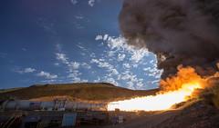 Booster Test for Space Launch System Rocket (NHQ201606280021) (NASA HQ PHOTO) Tags: usa utah nasa promontory testarea billingalls spacelaunchsystemsls qualificationmotortestqm2