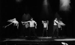 (Kelvin P. Coleman) Tags: nottingham portrait people bw blancoynegro canon dance noiretblanc theatre rehearsal stage performance indoor scene powershot rob musical actor drama schwarzweiss performer groupshot goll