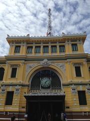 Saigon Central Post Office (Ryo.T) Tags: vietnam saigon hochiminhcity hcmc hochiminh