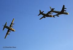 Heavy Lifting ! (Y Ruas) Tags: martin boeing 707 flex lockheed aar tanker c130 refuel iaf israeliairforce
