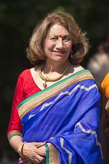 DUE_4460r (crobart) Tags: dedication statue ji golden vishnu hill ceremony richmond celebration idol hanuman unveiling hindu hinduism mandir bapu pujya morari