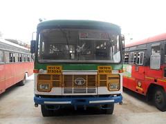 MSRTC pushback Hirkani Resting at Shirdi bus Stand Route -- Aheri -- Shirdi (gouravshinde94) Tags: msrtc bus hirakani asaid shirdi aheri semiluxury