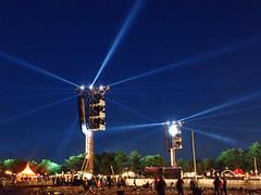 Searchlights (Netzki) Tags: sky night denmark lights concert audience netzki roskilde spotlights 2016 roskildefestival rf16