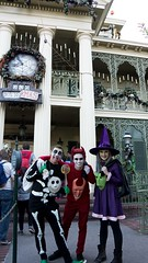 Lock, Shock, Barrel Halloween costumes! (Waffle_Princess1955) Tags: christmas costumes party halloween cosplay lock disneyland barrel before haunted shock nightmare mansion mickeys mhp