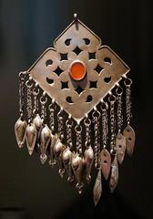 Pendant - Turkmenistan (Monceau) Tags: dangle dangling quaibranly jewelry turkmenistan asia