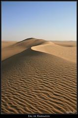 Erg de Karaween (Egypte) (HimalAnda) Tags: sahara sand desert curves egypt sable ripples egypte dsert courbes ondulations eos400d canoneos400d stphanebon