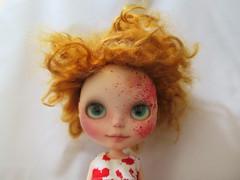 Little Miss Floribunda (Fiddybobiddy) Tags: floribunda blythe milkyrobot ohtheplacesyoullgo gesundheit