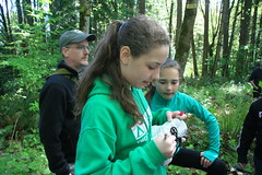 Signing the Boots (wildliferecreation) Tags: washington urbanforest bothell northcreekforestnorthcreekforest