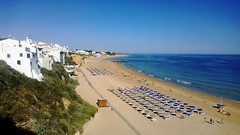 20130505 Albufeira Beach, Portugal. (paulfuller128) Tags: sun holiday beach portugal sunshine algarve albufeira