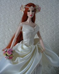 Tarot Oneiroi as a bride (redmermaidwerewolf) Tags: floral fashion boots vampire gothic barbie weding dracula horror brides bouquet gown drake ashton royalty mattel eternallytogetherlucy