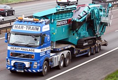 Volvo FH T18 MHH Mar-Train (gylesnikki) Tags: blue truck artic stgo heavyhaulage martrain