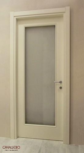 Porta pantogratata 110FT con vetro satinato