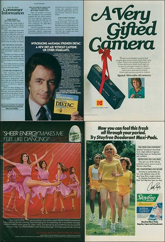 four celebrity endorsements (November 1981)