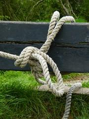 Dscf9215 (creepingaroundhere) Tags: grass canal gate lock knot byncsa