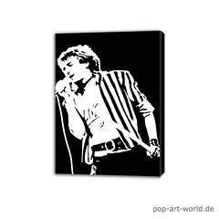 Rod_Stewart_art (pop-art-world_de) Tags: art pop rodstewart kunstwerk leinwand popartpainting rodstewartart