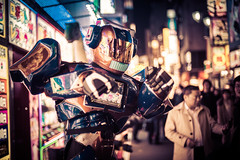 Robots in the Streets of Tokyo! (Stuck in Customs) Tags: japan tokyo stuckincustoms treyratcliff stuckincustomscom