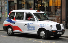 Lti TXii in BA Olympics livery (Ian Press Photography) Tags: london team cab taxi taxis international gb cabbie british ba olympic olympics airways cabs 2012 cabby london2012 livery lti txii
