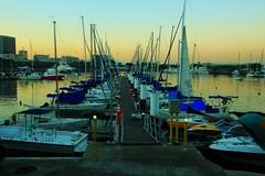 Fim de tarde na Marina da Glria (Rodrigo Jordy) Tags: sunset riodejaneiro canon landscape barcos marinadaglria paisagem glria 500d sigma18250 t1i