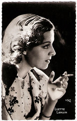 Lisette Lanvin (Truus, Bob & Jan too!) Tags: cinema film vintage movie french star glamour kino european cigarette postcard picture cine screen pi actress movies postal smoker postale cartolina carte lisette allure postkarte lanvin filmstar vedette ansichtskarte ansichtkaart actrice filmster postkaart briefkaart tarjet briefkarte lisettelanvin