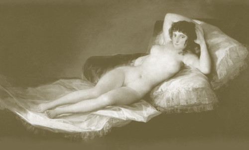 "Majas, homenajes de Francisco de Goya y Lucientes (1802), Eugéne Delacroix (1826), Amadeo Modigliani (1916), Pablo Picasso (1906), (1931), (1959), (1964). • <a style=""font-size:0.8em;"" href=""http://www.flickr.com/photos/30735181@N00/8747967988/"" target=""_blank"">View on Flickr</a>"