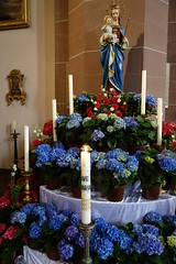 Ave Maria (1) (BZK2011) Tags: candle catholicchurch avemaria oberkirch parishchurch