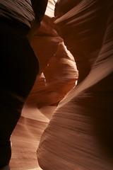 Rock Depth (breakfast_pizzas) Tags: arizona rock canyon page slot slotcanyon secretcanyon