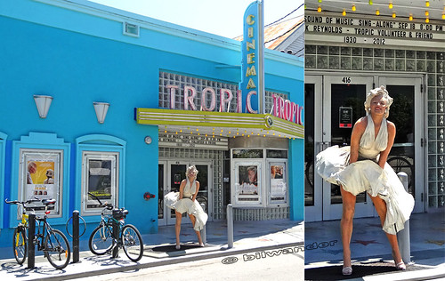 marilyn monroe at  tropic cinema