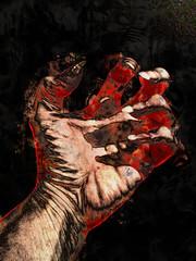 The Hurt (bethrosengard (not around much)) Tags: photomanipulation digitalart photoart digitallyenhanced digitalmagic bethrosengard