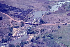Nzoia River, Webuye, Western Kenya 1971 (Hart Walter) Tags: tourism coffee cattle rice tea goats sunflower sisal camels sugarcane deforestation desertification tef africanlanduse baobabdestruction