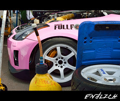 350Z Drift Hobby (Endlich1993) Tags: pink car nikon nissan 1855 18 350z drift brembo d3200