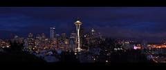 Seattle Skyline (Surrealplaces) Tags: seattle skyline washington kerrypark