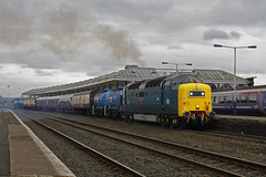 55022 6z54 (Steven Atkinson) Tags: grey carriage royal scotrail cs kilmarnock scots sidings yoker bonnyton 55022 334025 6z54