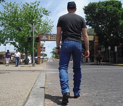 Wranlger (MrFloodedSilverado) Tags: man fort butt jeans ft worth tight 13 wrangler stockyards mwz