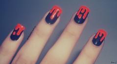 Nail Art: Esmalte Escorrendo (A Garota Esmaltada) Tags: nails nailpolish bruna unhas nailart unhasdecoradas unhasartisticas agarotaesmaltada