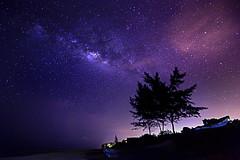 rising (Mk Azmi) Tags: sky night star nikon malaysia terengganu milkyway d600 dungun tanjungjara