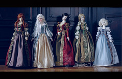 The Royal Jewels collection (AyuAna) Tags: proud ball design clothing doll little handmade ooak eid chloe dia luna clothes 2nd monica bjd dollfie soom eris limos jointed spiritdoll iplehouse ordoll nyxdoll ayuana proud1st