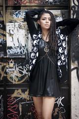 Suter yin yang, vestido y collar por NSC (cristine and tv) Tags: fashion no cristina moda vestido somos nsc valladares suter cibernovios