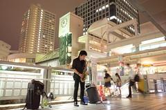 中村健佐ストリートライブ (NAKAMURA Kensuke street sax live) (Paul_ (shin.ogata)) Tags: street live gr sax ricoh nakamura ライブ kensuke ストリート サックス 中村健佐